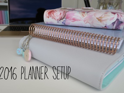 Planner Set up for 2016