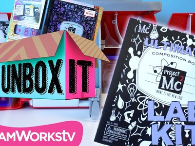Project Mc² Ultimate Lab Kit & A.D.I.S.N. Journal with Dollastic | UNBOX IT