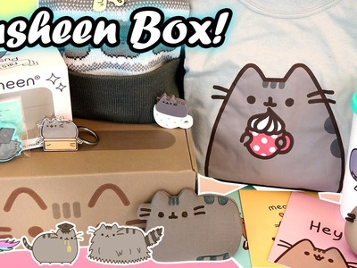Pusheen Cat Subscription Box - Packed with Official Kawaii Merch!!