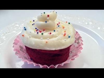 Red Velvet Mug Cake for Valentine's Day - Microwave Cake Recipe - NO FLOUR - NO OIL