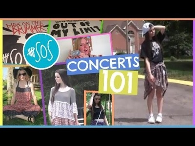 ROWYSO With 5SOS: DIYs, Essentials, & Outfits! | Concerts 101
