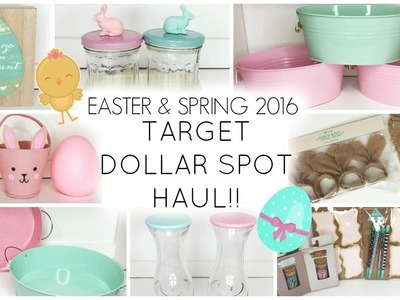 Target Dollar Spot Haul ♡ Easter &  Spring 2016