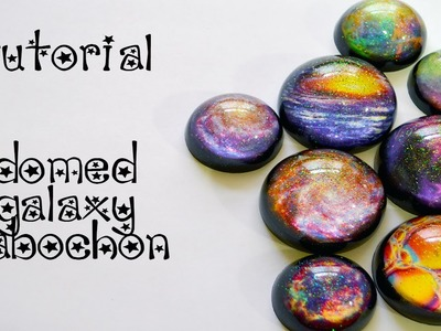 Tutorial - Resin Galaxy Domed Cabochon