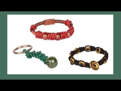 Antelope Beads - How to Make a Spanish Knot