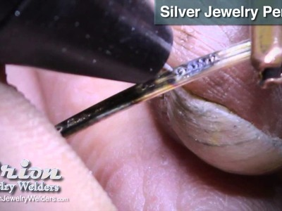 Constructing a Silver Jewelry Pendant with an Orion Welder