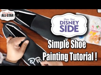 Disney DIY | How to Custom Paint Shoes & Disney World Adventure | The Dan-O Channel