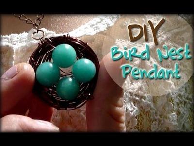 DIY: Bird Nest Pendant ♡