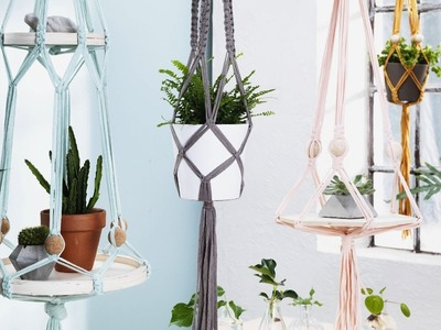 DIY by Panduro: Hanging holders with trays
