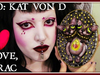 Drac's Speed Painting #3: A Gift For Kat Von D