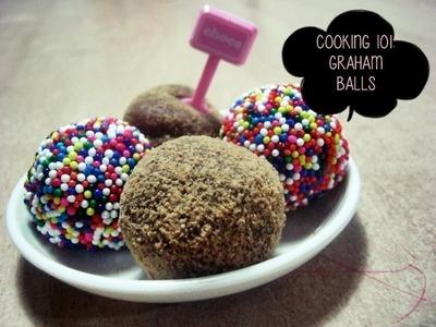 Graham Balls.Graham Munchkins   Easy Dessert Ideas