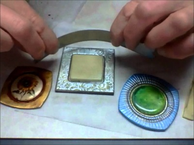 How to create the look of textured bezels using the All-In-One CaBezel molds.  March 3 2012