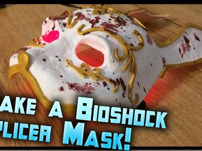How to Make a Bioshock Splicer Mask! Bioshock Splicer Rabbit Mask Tutorial by ohaple