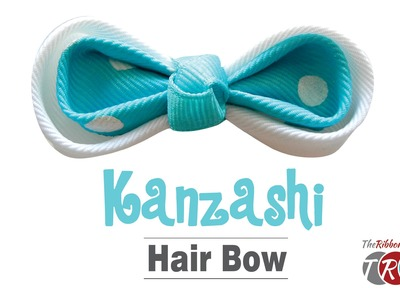 How to Make a Kanzashi Hair Bow - TheRibbonRetreat.com
