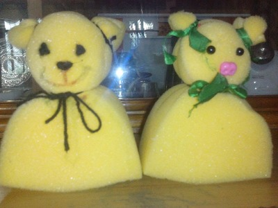 How to Make a Simple Sponge Doll??