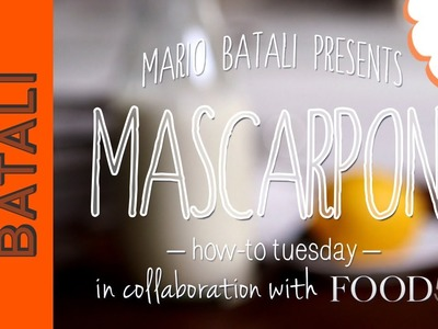 How to Make Mascarpone