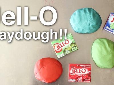 Jello Play Dough!! (Edible)