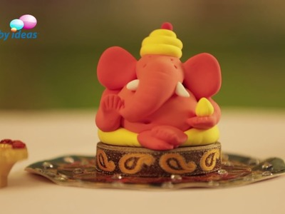 Learn To Make Colourful Ganesh Idol Using Super Dough
