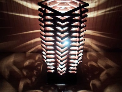Make a Cool Geometric Dowel Lamp - Home - Guidecentral