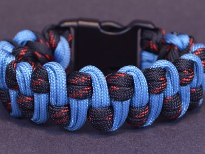Make the Wide Slithering Snake Paracord Survival Bracelet - Bored?Paracord!