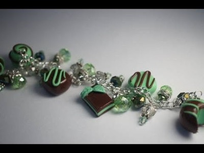 Making A Mint Chocolate Charm Bracelet