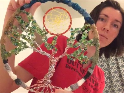 Making The Tree of Life Dreamcatcher