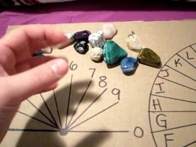 MY tools of the trade - Spirit board, Pendulums, Crystals :)
