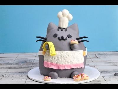 PUSHEEN CAT CAKE, HANIELA'S