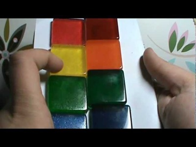 Resin Coloring Test 1: Classic Food Colors