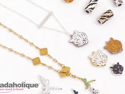 Show & Tell: Swarovski Innovations Spring.Summer 2017 Pave Pendants and Beads
