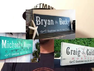 The Art Behind Our Rustic Wood Signs by Jetmak Designs