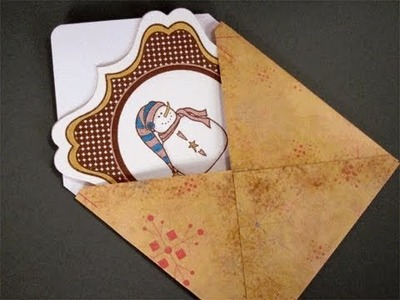4 X 4 Card and Envelope