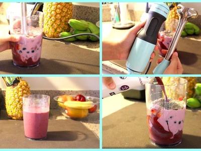Acai Berry Smoothie | KitchenAid 2 Speed Hand Blender