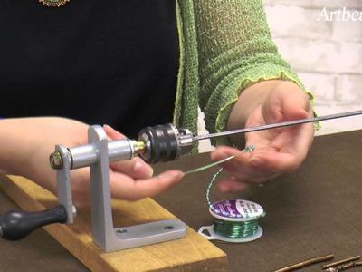 Artbeads Mini Tutorial - The Cobra Coiler with Cynthia Kimura