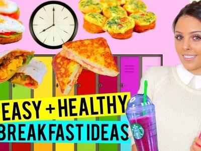 BACK TO SCHOOL: 5 Easy + Healthy Breakfast Ideas for School! | Kristi-Anne Beil