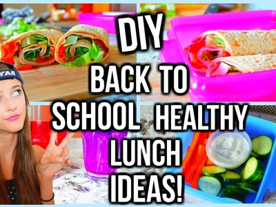 BACK TO SCHOOL Healthy Lunch & Breakfast Ideas! | Tatiana Boyd