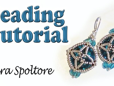 BeadsFriends: beading tutorial - How to make an earring - How to make a bracelet - DIY