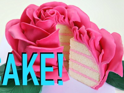 Beautiful Rose Cake - CAKE STYLE