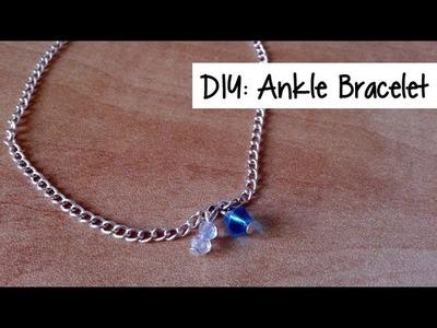 DIY: Ankle Bracelet