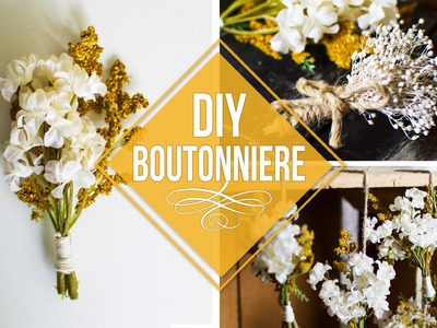 DIY Boutonnieres for CHEAP (Silk Flowers) + More Ways to Use them!
