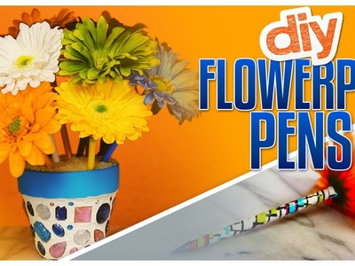 DIY Flowerpot Pens - Do It, Gurl