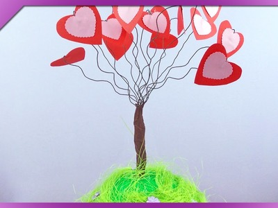 DIY Hearts tree (ENG Subtitles) - Speed up #63