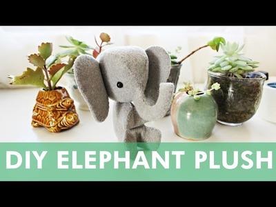 DIY Mini Elephant Plush   LDP