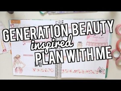 GENERATION BEAUTY INSPIRED PLAN WITH ME | JaaackJackVlogs