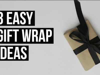 Gift Wrap Ideas | Procrastinating Pretty
