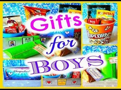 GIFTS FOR BOYS! VALENTINE'S DAY GIFTS IDEAS FOR HIM, BOYFRIEND, FRIENDS .  ♡♡ EstarlinaDIY