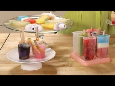 Homemade Fresh Fruit Popsicles | Food How To | POPSUGAR Food