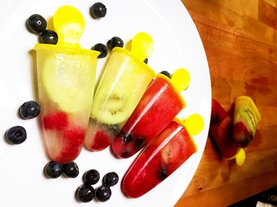 How to DIY Fruit Popsicles Dessert for Summer, CiCi Li