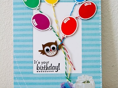How to make a birthday card for kid