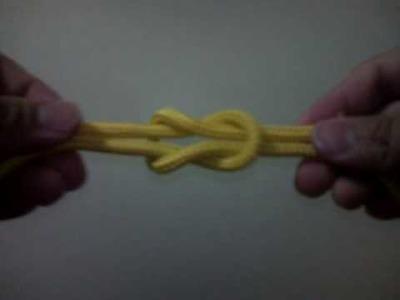 How To Tie a Reef Knot. Lover's Knot