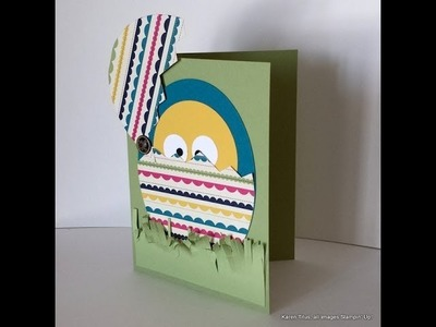 Just a Minute! Make a Cute Easter Card for Kids